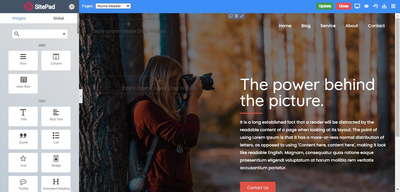 sitepad-screenshot